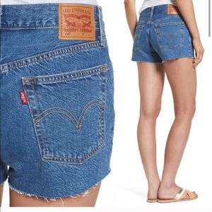 Levi's 501 Cut-off Button-fly Shorts